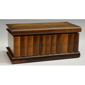 SORRENTO OLIVE WOOD JEWELRY PUZZLE BOX