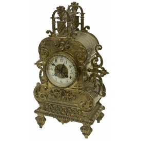 FRENCH LOUIS XV STYLE VINCENTI & CIE MANTLE CLOCK