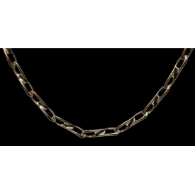 14KT YELLOW GOLD FIGURE 8 LINK ESTATE NECKLACE