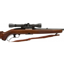 WINCHESTER MODEL 88 LEVER ACTION .308 RIFLE, SCOPE