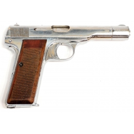 FN BROWNING NAZI WWII CHROME 1910/22 PISTOL