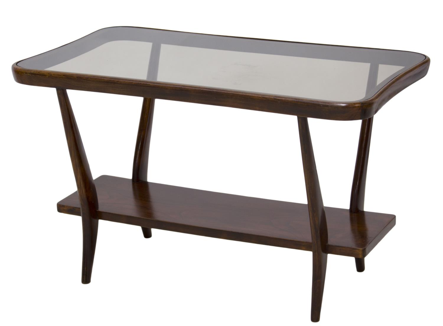 Italian Mid Century Modern Glass Top Coffee Table Italian Danish Mid Century Design Austin