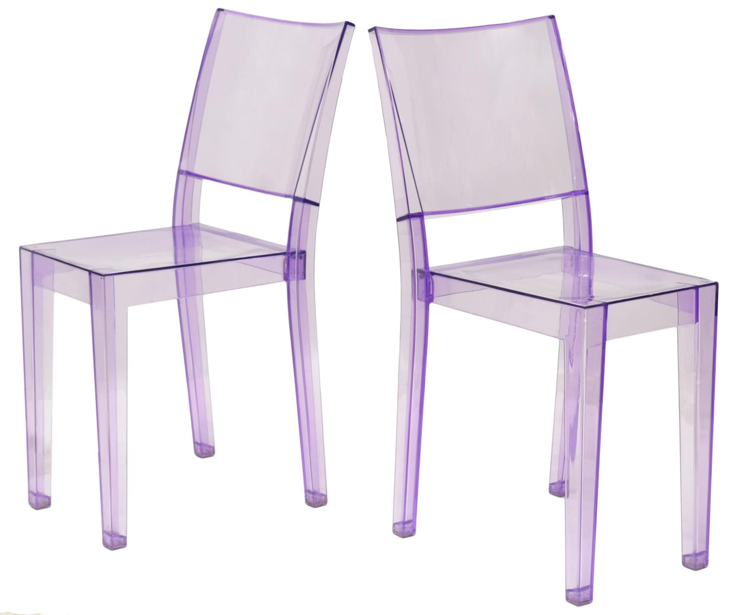 2 la marie chairs philippe starck for kartell italian for Chaise la marie starck