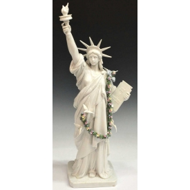 LLADRO 'THE STATUE OF LIBERTY', RETIRED, #7563
