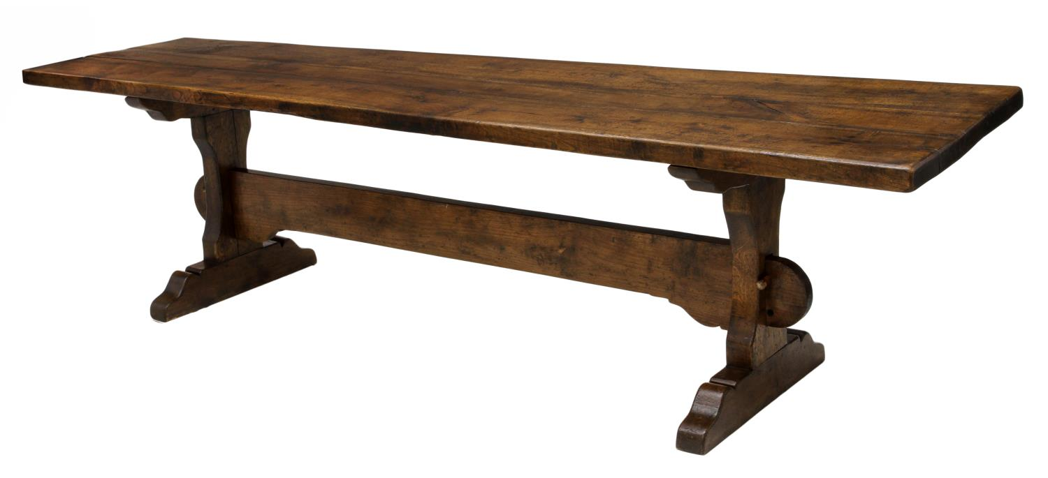 ITALIAN RUSTIC OAK FARM HOUSE DINING TABLE Spain  : 929 from www.austinauction.com size 1500 x 685 jpeg 59kB