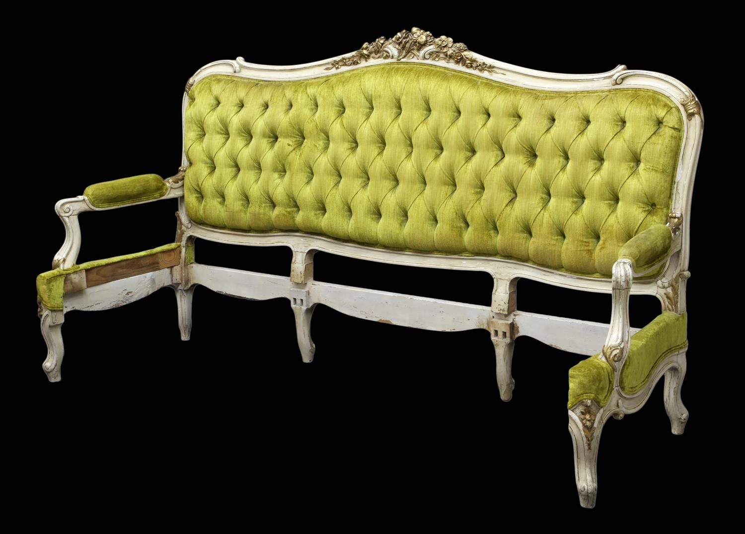 louis xv sofa frame king size headboard italian antiques design art firearms estates. Black Bedroom Furniture Sets. Home Design Ideas