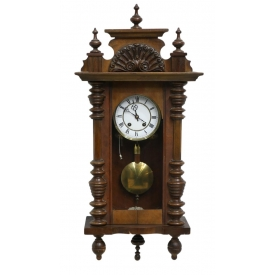 GERMAN LENZKIRCH WALL CLOCK