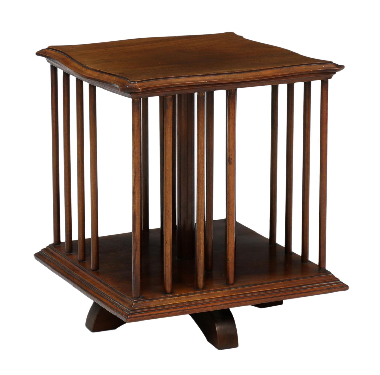 Mahogany Table Top Revolving Book Stand Fine Antiques Estates Amp Firearms Day One