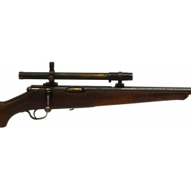 SAVAGE SPORTER MODEL 23AA RIFLE, .22LR & SCOPE