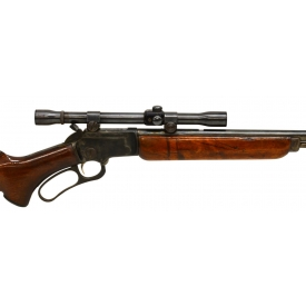 MARLIN MODEL 39A LEVER ACTION .22S,L,R, SCOPE