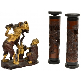 (3) CHINESE FIGURAL GROUP & INCESE PERFUMIERS