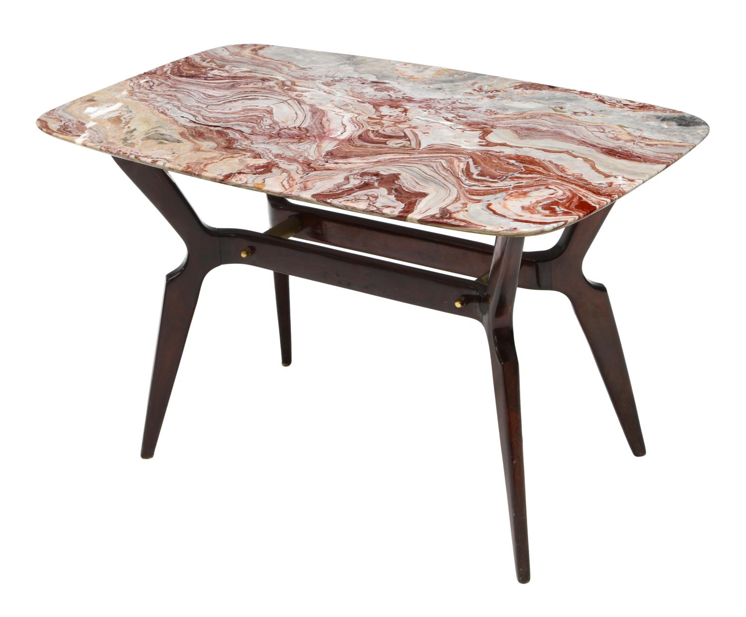 Italian Mid Century Modern Marble Top Coffee Table Italian Design Couture Estates Austin