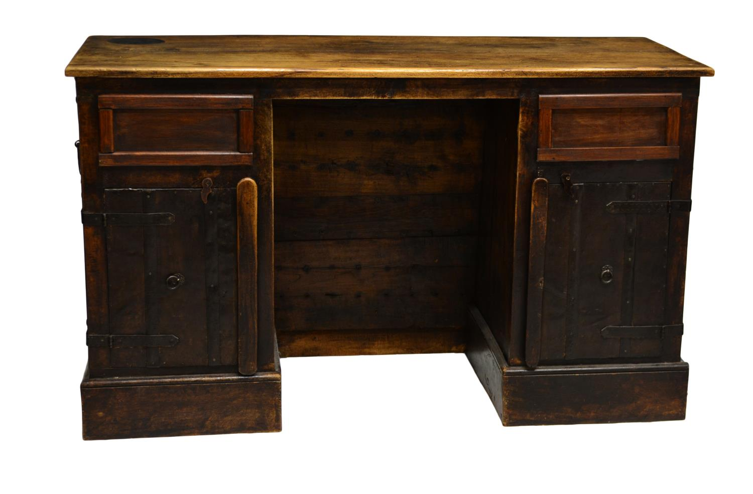 Unusual kneehole writing desk january antiques mid for Unusual writing desks