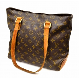 LOUIS VUITTON CABAS PIANO MONOGRAM HANDBAG