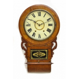 ANGLO-AMERICAN JEROME'S & COMPANY 8 DAY WALL CLOCK