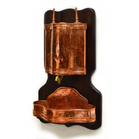 CONTINENTAL COPPER WALL MOUNTING LAVABO & BASIN