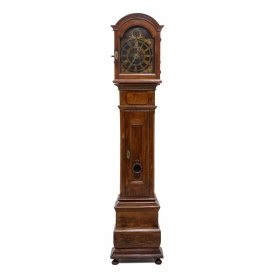 18TH C. OAK LONG CASE CLOCK