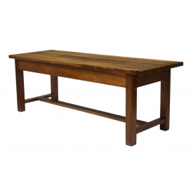 FRENCH WALNUT REFECTORY TABLE