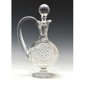 (1) WATERFORD CUT CRYSTAL PRESTIGE FOOTED DECANTER