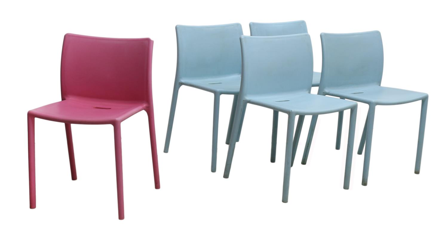 5 MODERN JASPER MORRISON AIR CHAIR FOR MAGIS SPECIAL ITALIAN