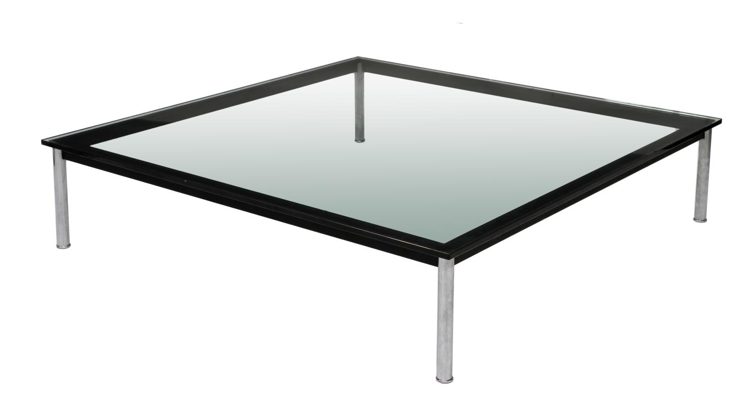 French chrome steel glass coffee table special italian for French glass coffee table