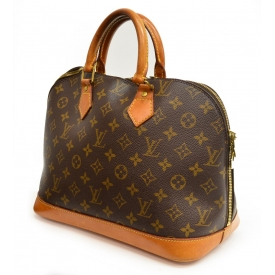LOUIS VUITTON MONOGRAM CANVAS ALMA HANDBAG