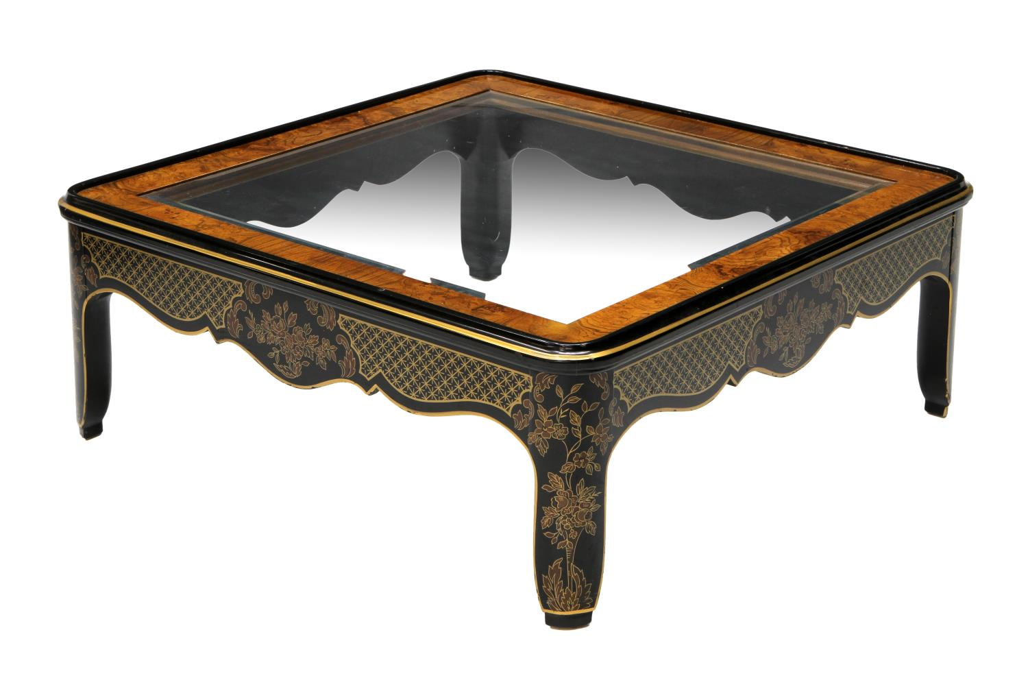 Drexel Heritage Chinoiserie Coffee Table June Mid Century Design Antiques Estates Auction
