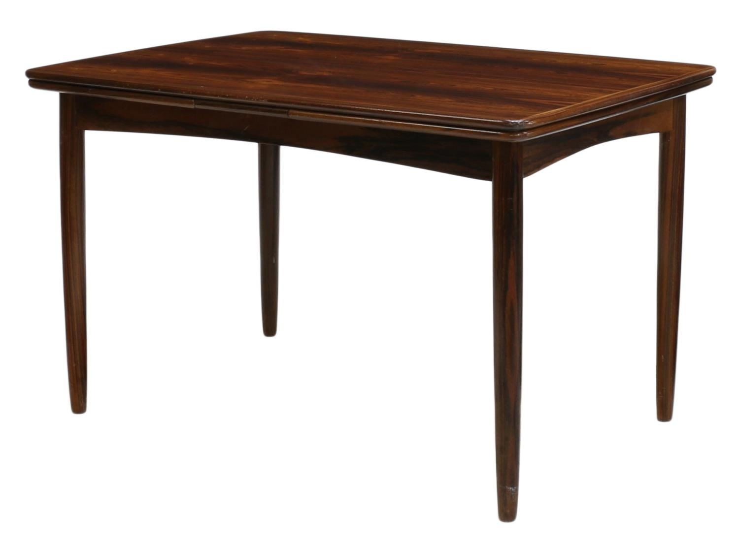 DANISH MID CENTURY MODERN ROSEWOOD DINING TABLE JUNE MID  : 85 from www.austinauction.com size 1500 x 1111 jpeg 65kB