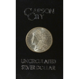 1885 UNCIRCULATED CARSON CITY SILVER DOLLAR