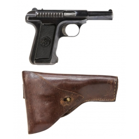 SAVAGE MODEL 1907 SEMI-AUTOMATIC PISTOL & HOLSTER