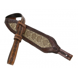 DIAMOND BACK RATTLESNAKE PANELED RIFLE SLING