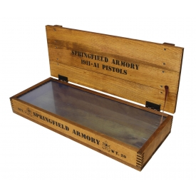 SPRINGFIELD ARMORY DISPLAY BOX
