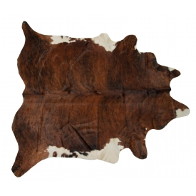 "LARGE BRAZILIAN COWHIDE, 7'7"" x 5'10"""