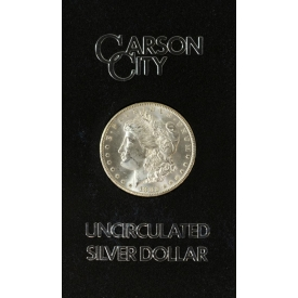 1882 UNCIRCULATED CARSON CITY SILVER DOLLAR