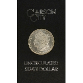 1880 UNCIRCULATED CARSON CITY SILVER DOLLAR