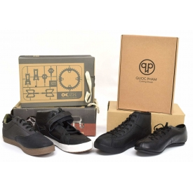 (4 PAIR) NEW IN BOX BICYCLE SHOES, SIZE 10