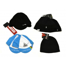 (6) ASSORTED CYCLING CAPS