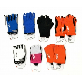 (9) ASSORTED POC CYCLING GLOVES, XL