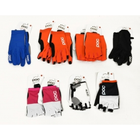 (10) ASSORTED POC CYCLING GLOVES