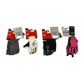 (4) ASSORTED GIRO CYCLING GLOVES, SMALL