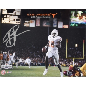VINCE YOUNG TEXAS LONGHORN AUTOGRAPHED PICTURE