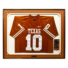 VINCE YOUNG TEXAS LONGHORNS AUTOGRAPHED JERSEY