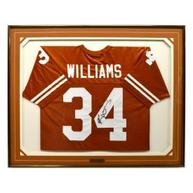 RICKY WILLIAMS TEXAS LONGHORNS AUTOGRAPHED JERSEY