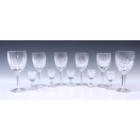 (11) WATERFORD CRYSTAL DRINKWARE, KILDARE & BOYNE