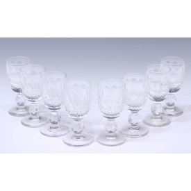 (8) WATERFORD CRYSTAL COLLEEN CORDIAL GLASSES
