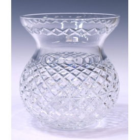 150-LARGE WATERFORD CUT CRYSTAL BOUQUET VASE