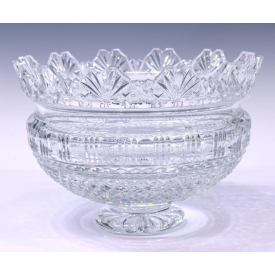 WATERFORD DESIGNERS GALLERY CRYSTAL KINGS BOWL