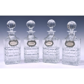 (4) WATERFORD MARQUIS COLLECTION DECANTERS