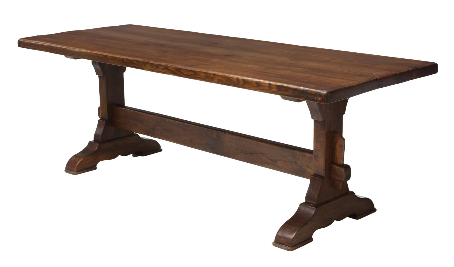 4 ITALIAN OAK REFECTORY DINING TABLE 20TH C  : 934 from www.austinauction.com size 1500 x 883 jpeg 59kB