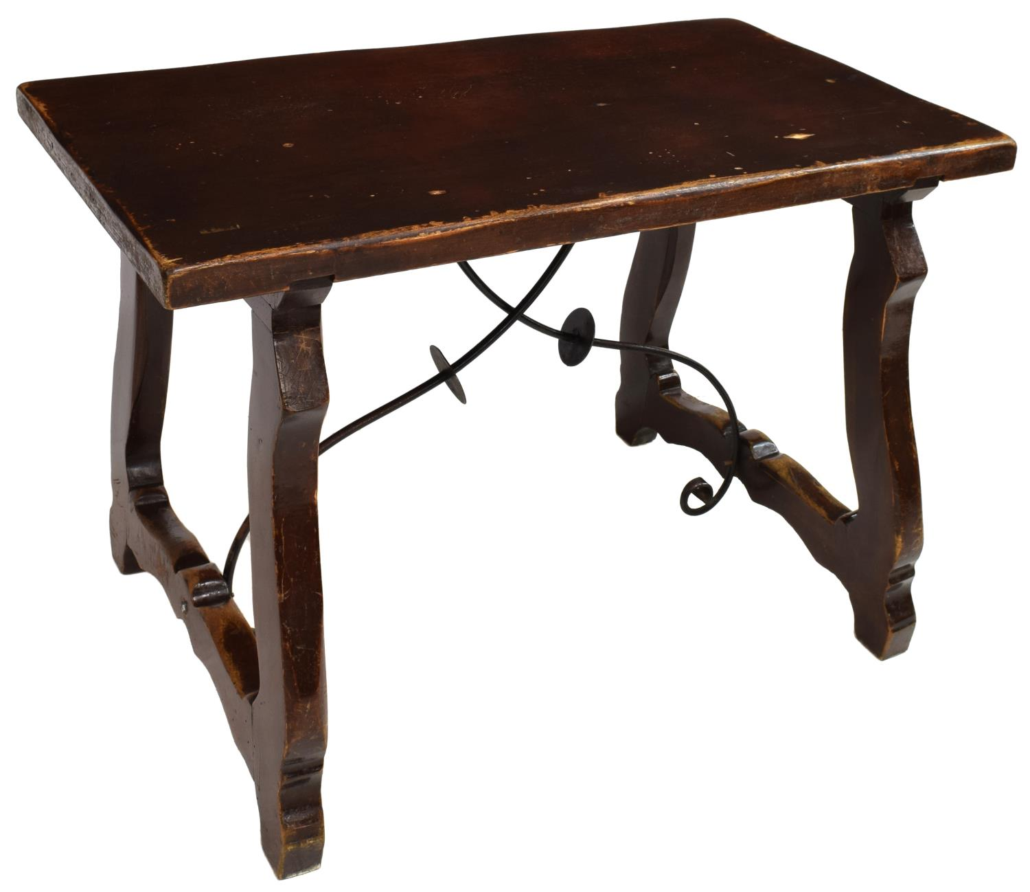 Spanish baroque style work table spectacular carved for Spanish baroque furniture